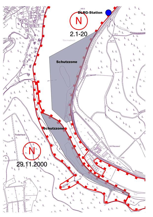 2013-11-10 Schutzzonen Stausee Obermaubach klein